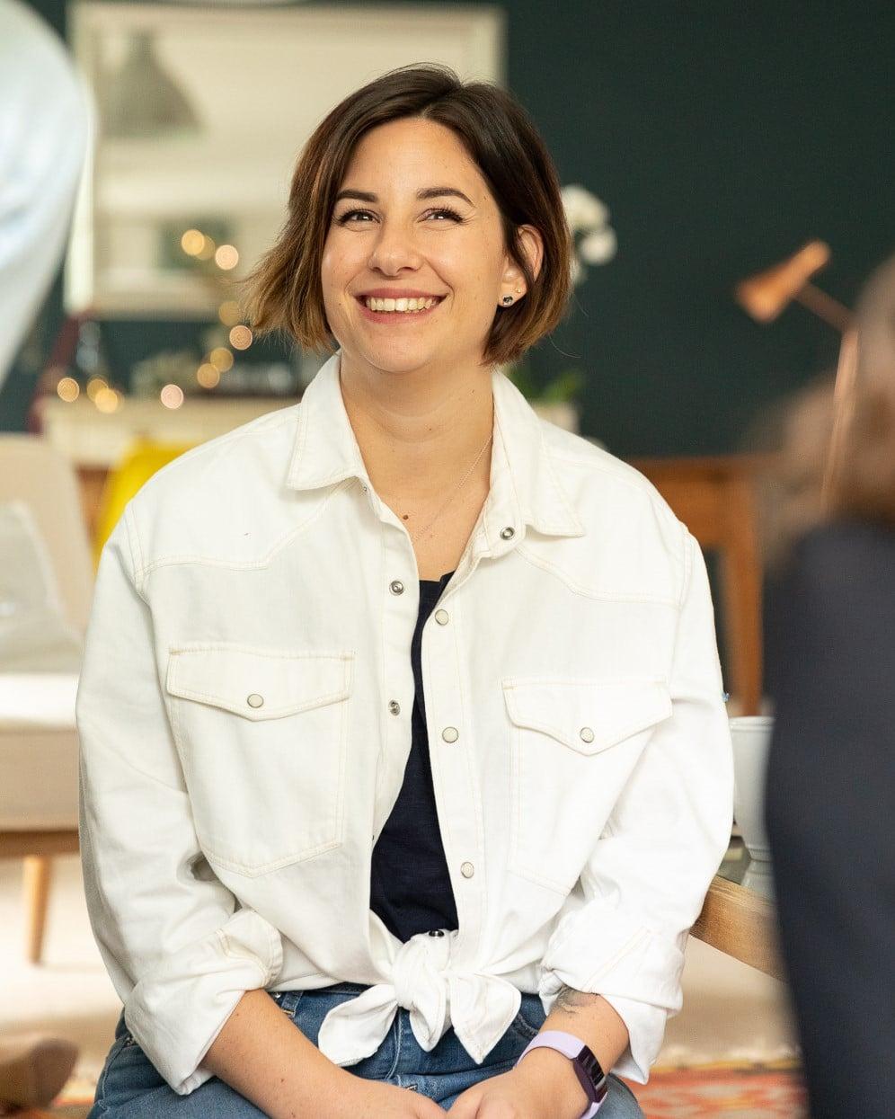 Alexandra ARNAUD, coach et conceptrice des parcours Sensy